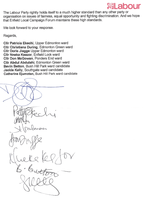 Black cllrs letter2