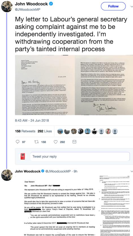 woodcock meltdown