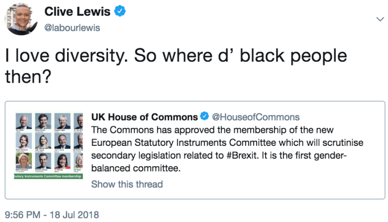 clewis diversity
