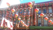 China town, from the sidewalk.