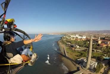 Paragliding Faro de Maspalomas Gran Canaria