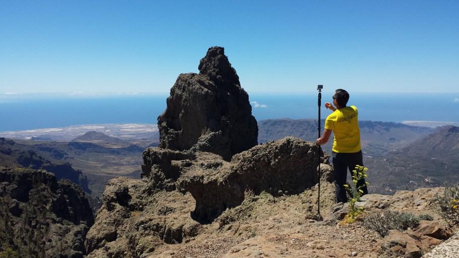 pico de las nieves miradores en Gran Canaria