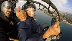 paramotor paragliding in Gran Canaria