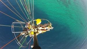 paragliding in Gran Canaria over Maspalomas Beach