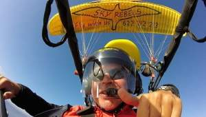 Powered paragliding in Gran Canaria aka paratrike