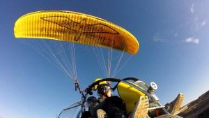 powered paragligind in Maspalomas Gran Canaria