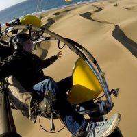 45 minutes paragliding - paratrike flight over Maspalomas Dunes
