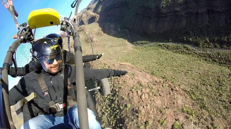 paragliding gran canaria