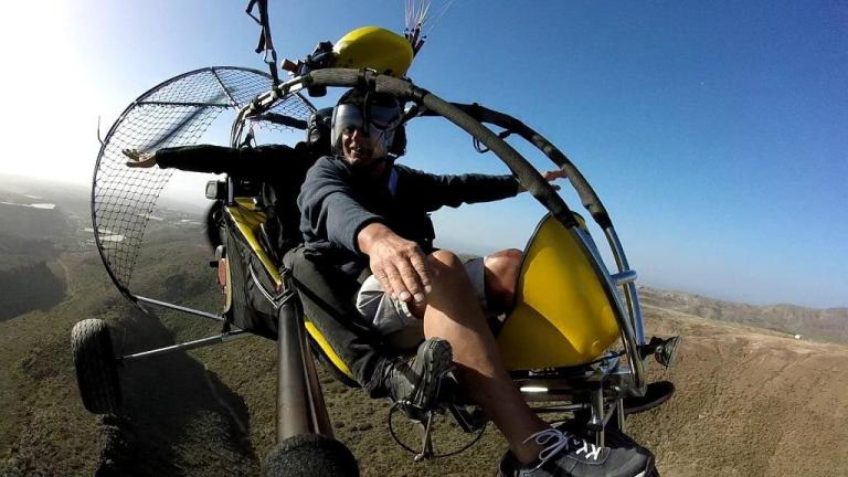 powered paragliding gran canaria