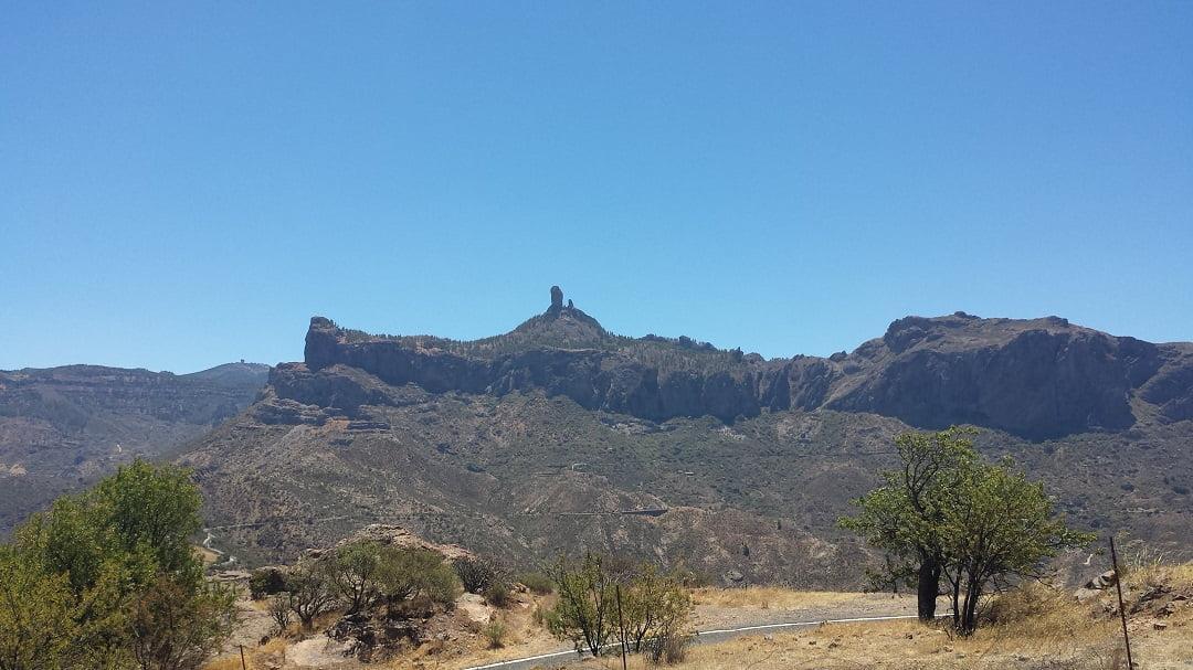 Sacred mountains of Gran Canaria