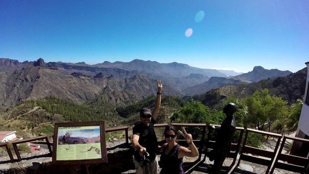 Artenara Gran Canaria Unamuno viewpoint