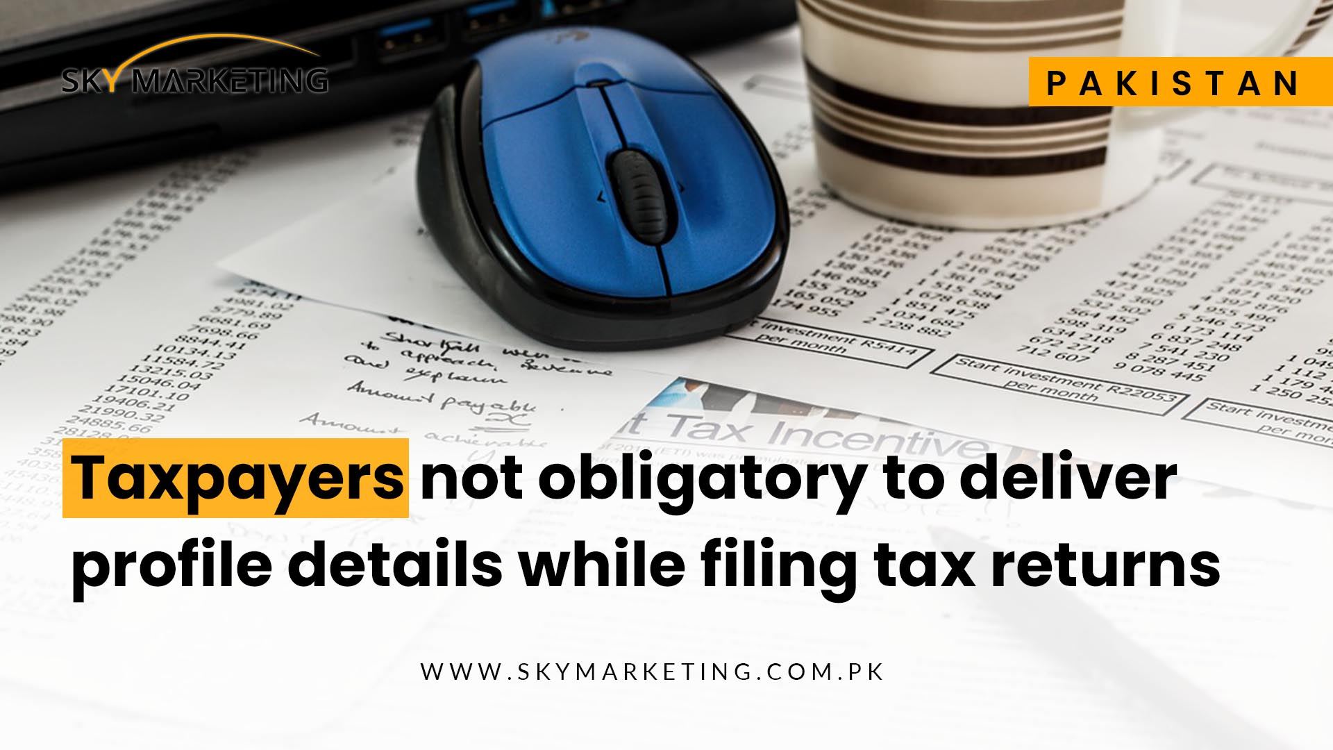 ~Profile \ Ext:php Inurl:?Article= : Taxpayers not obligatory to deliver profile details while ...