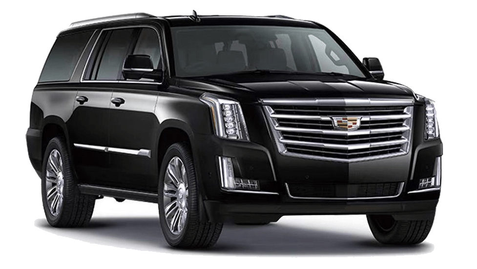 Luxury Limousine and executive vehicle, airport transfer SUV, wine tour SUV, wedding SUV.