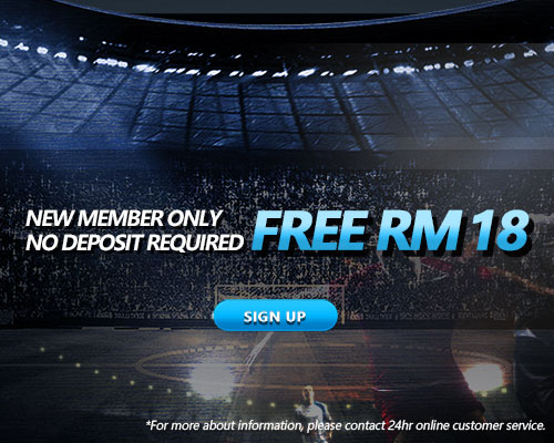 New Registration to get iBET Promotion free RM 18