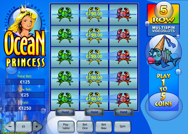 OceanPrincessSlot