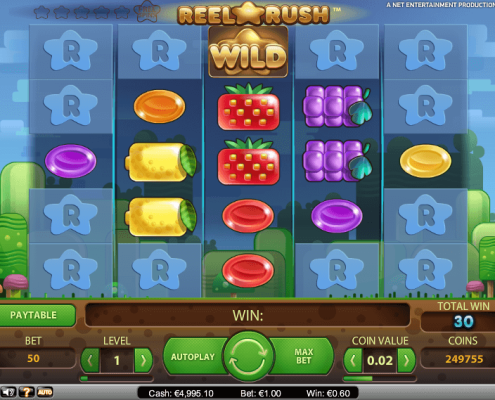 sky3888 reel rush slot game