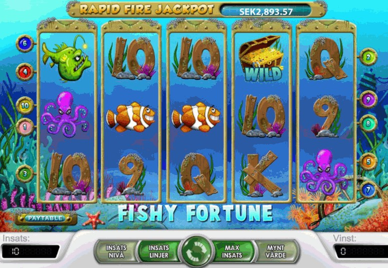 Fishy Fortune Slots - Play Fishy Fortune Slots No Download