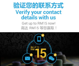 sky3888 Casino Promotion Verify and Get RM 15 For Free!