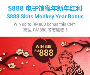 sky3888 S888 Slot Game Golden Monkey Bonus WIN MYR888 in iBET!