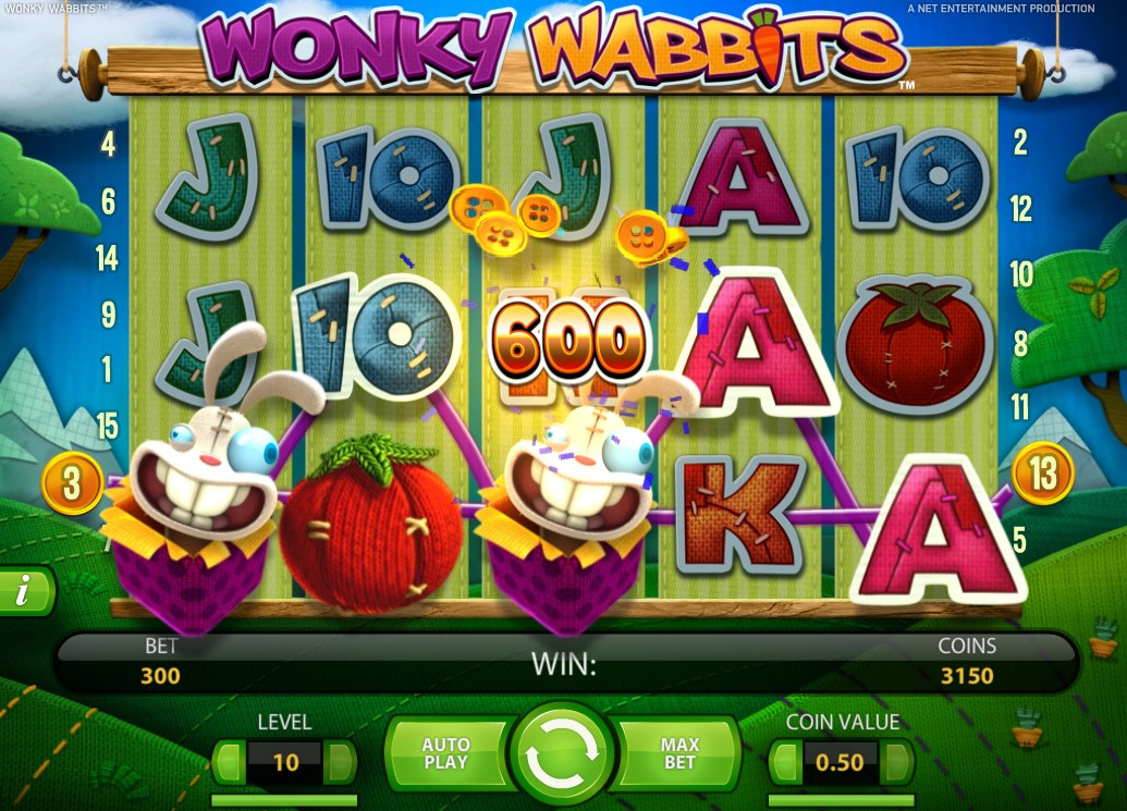 m.sky3888 Wonky Wabbits Slot in Crazy Vegetable Garden