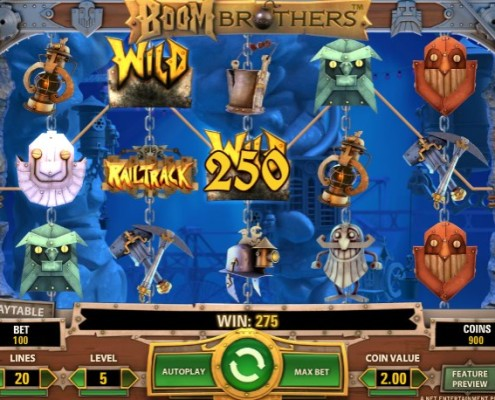 sky3888 Top Up Start a Mine Adventure with Boom Brothers Slot