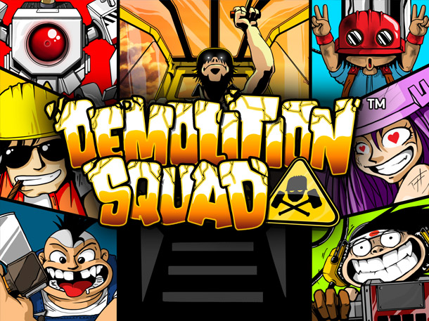 sky3888 Online Casino Demolition Squad Slot