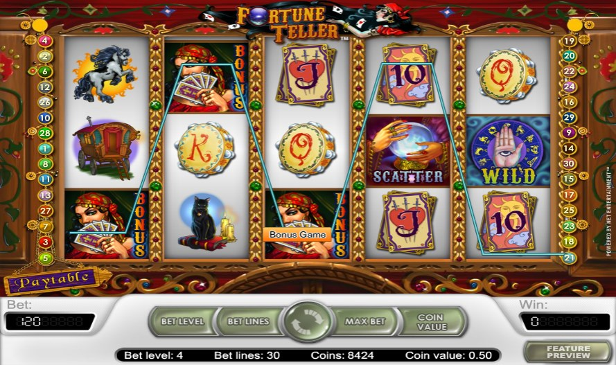 m.sky3888a Fortune Teller Slot Look into Your Destiny in crystal ball