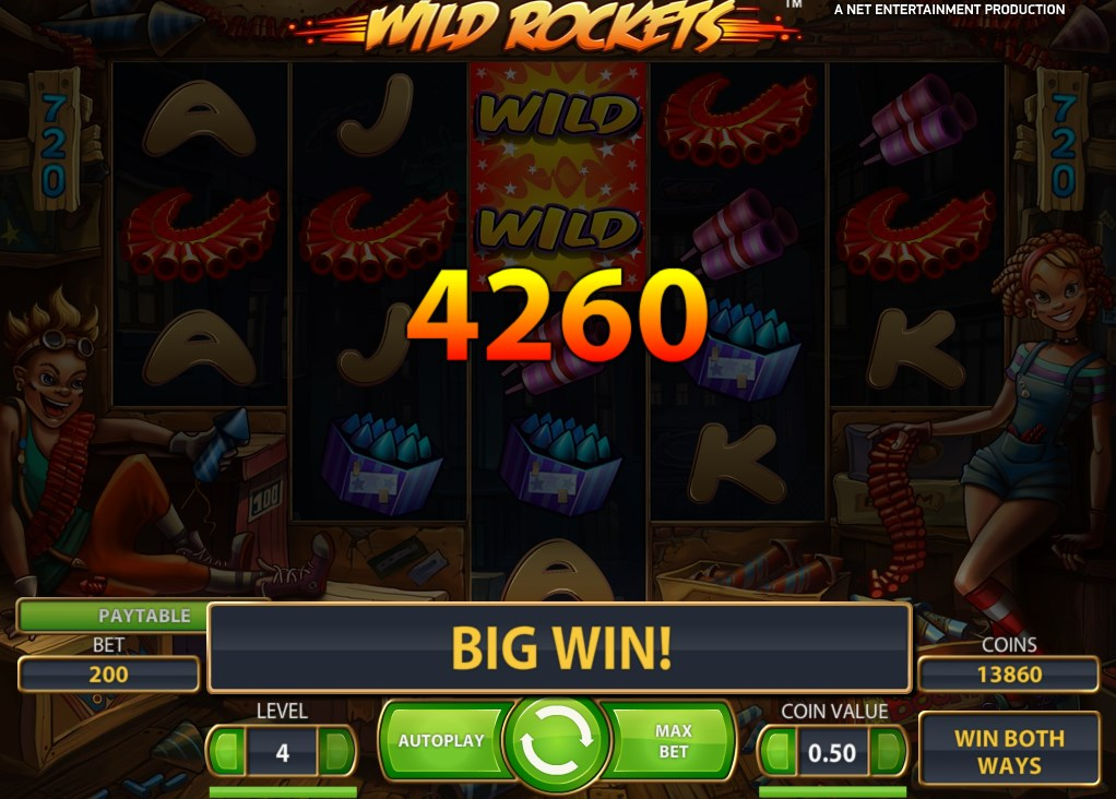 sky3888 Slot Games Wild Rockets Make Some Noise!