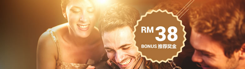 sky3888 login to Get RM38 by iBET Referral Bonus