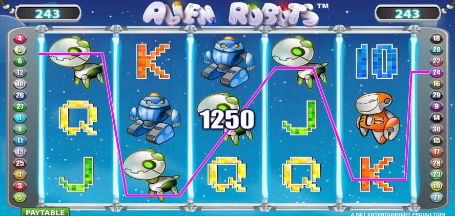 Spiele Alien Robots Slots - Video Slots Online