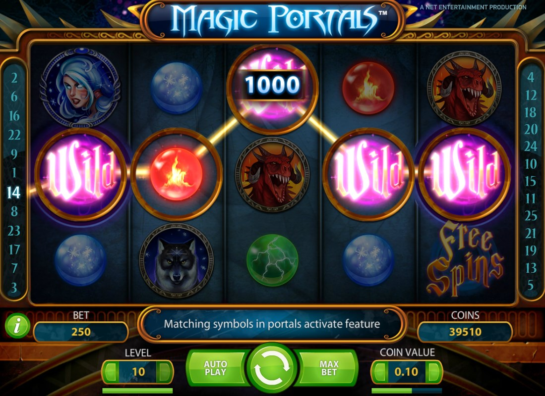 sky3888 Top Up Magic Portals Slot Machines