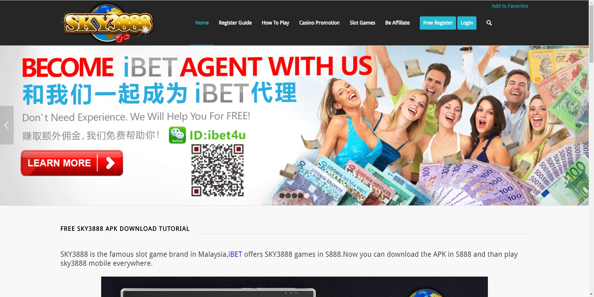 SKY3888 Casino Teach iBET Loyalty Reward Steps