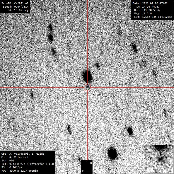 Comet Leonar