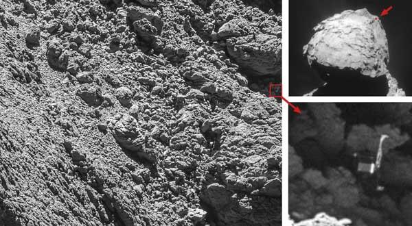 Finally, ESA Locates Comet Lander Philae - Sky & Telescope ...