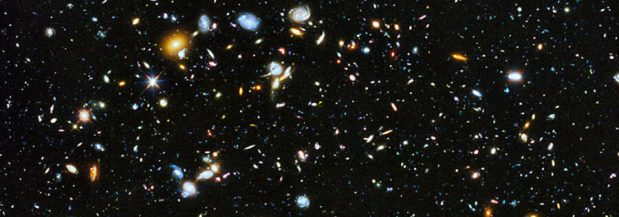 Section of the Hubble Ultra Deep Field