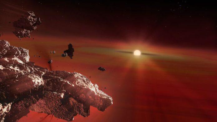 Planet-eating white dwarf