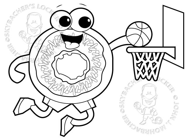 Donut Cannonball Cartoon Skybachers Locker