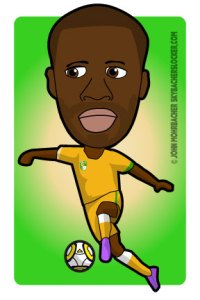 yaya toure cartoon