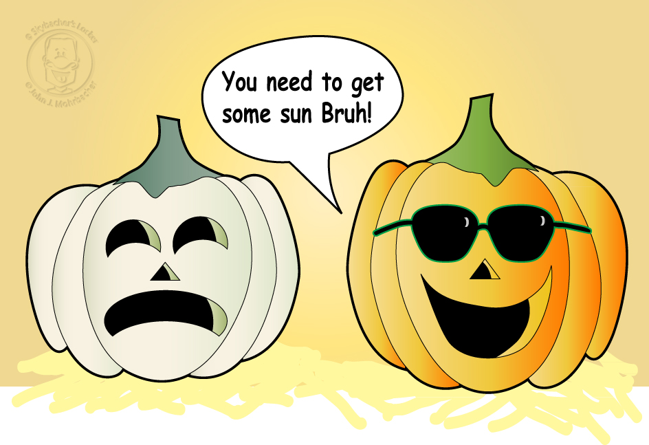 Pumpkin Cartoon Joke