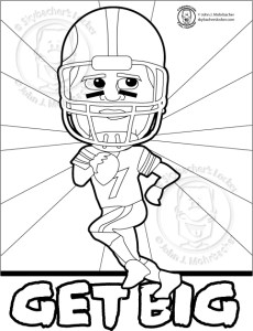 steelers coloring page