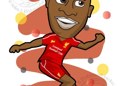 liverpool clipart, sterling liverpool, sterling cartoon