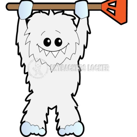 Broomball Yeti - Skybacher's Locker