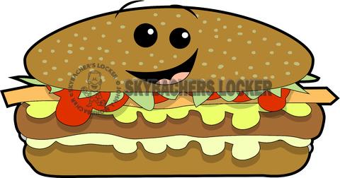 cheeseburger clipart, hamburger cartoon