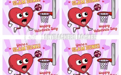 These Basketball Valentines are a Slam Dunk!