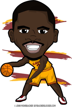 Kyrie Irving Cartoon