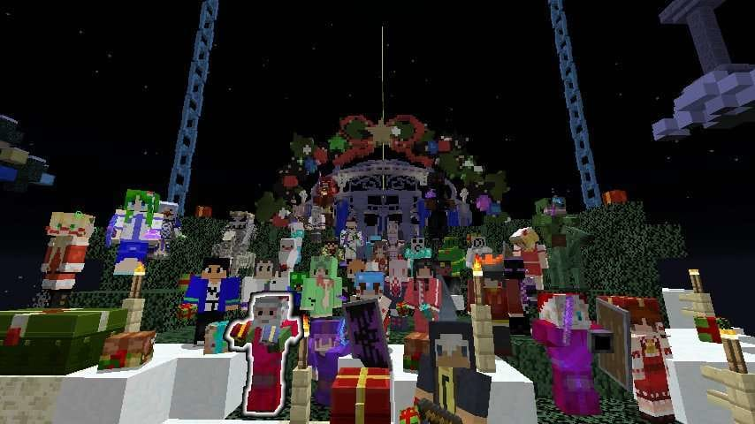 The Unusual SkyBlock Xmas