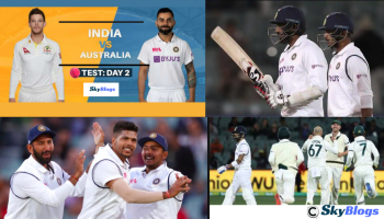 INDIA VS AUSTRALIA 1ST TEST, DAY 2 HIGHLIGHTS 2020