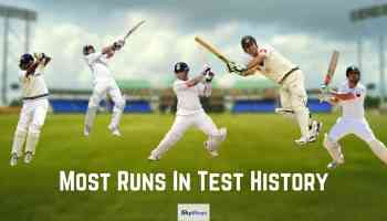 Most Runs In Test