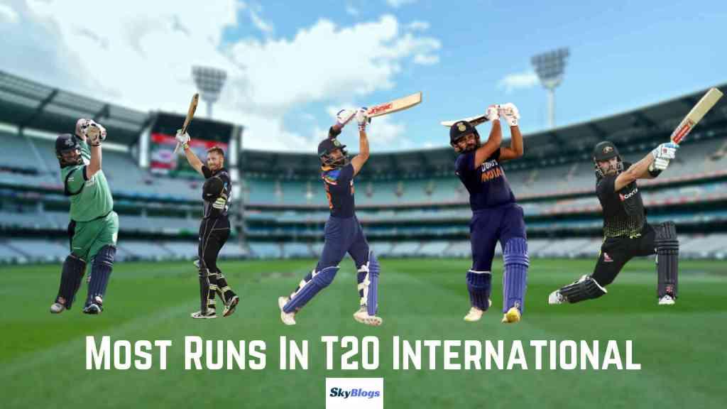 Most Runs in T20 International