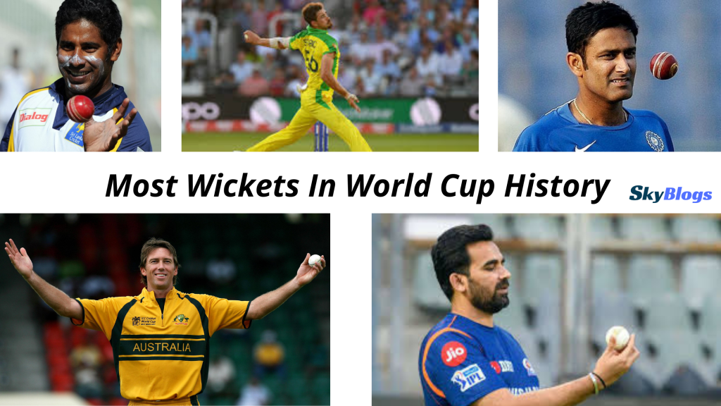 Most Wickets In World Cup